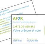 Soutenez l'AF2R en devenant membre!