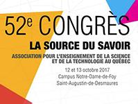 Participation de l'AF2R au congrès annuel de l'AESTQ