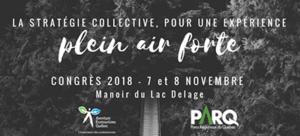 Congrès Plein Air-Nature 2018