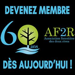 Pour son 60e, devenez membre de l'AF2R et profitez d'une foule d'avantages !