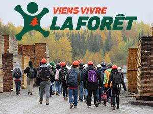 1re édition de Viens vivre la forêt en Chaudière-Appalaches: 225 élèves du secondaire ont expérimenté les métiers de la forêt et du bois!