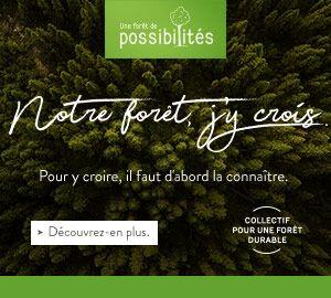 Notre forêt, l'AF2R y croit !