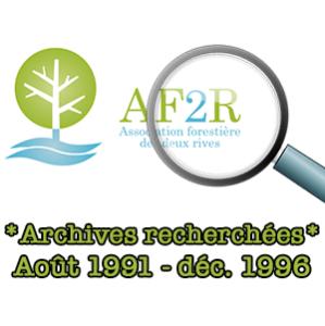 Avis: besoin d'aide pour retrouver un pan de l'histoire de l'AF2R !