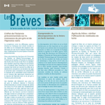Nouvelles publications du Service canadien des forêts