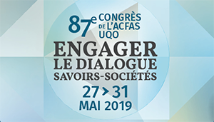 87e congrès de l'ACFAS
