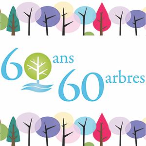 Plantation anniversaire 60 ans, 60 arbres
