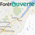 Version améliorée de la carte interactive Forêt ouverte