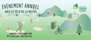 Événement Golf & Vélo de la relève 2019