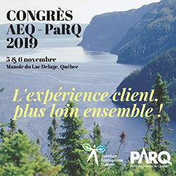 Congrès AEQ-PaRQ 2019