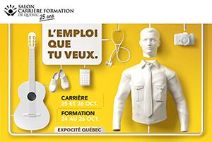 L'AF2R au Salon Carrière Formation de Québec