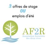 L'AF2R recrute pour cet été !