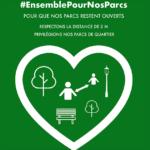 #EnsemblePourNosParcs – Agissons ensemble pour préserver l'accès aux parcs