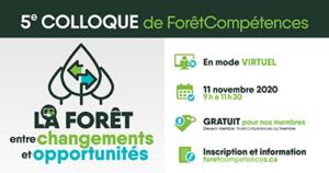 5e colloque de ForêtCompétences