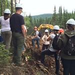 Trente enseignants nouvellement diplômés du Camp forêt des profs!