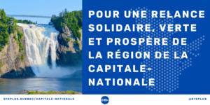 Création du G15+ région de la Capitale-Nationale