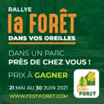 Rallye La forêt dans vos oreilles – jusqu'au 30 juin dans un parc près de chez vous!